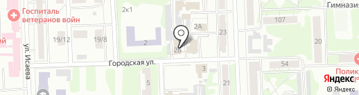 УЕН на карте Казани