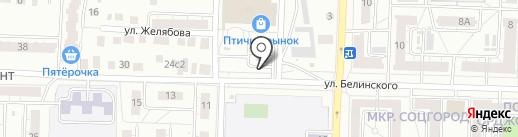 Флористический салон на карте Казани