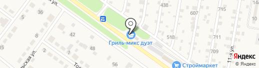 Магазин продуктов на карте Ягодного