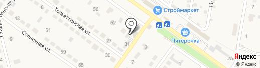 СтройРесурс на карте Ягодного