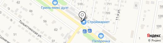 СтройМаркет на карте Ягодного