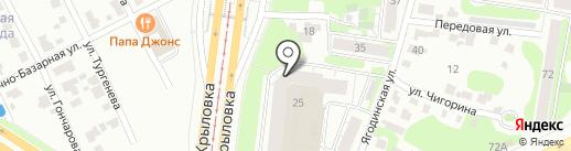 Дарья Крутых на карте Казани