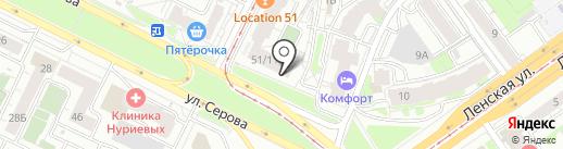 Печенька на карте Казани