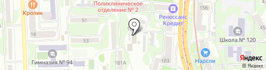 АвтоГрупп на карте Казани