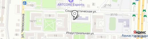 Республиканская психолого-медико-педагогическая консультация на карте Казани