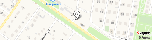 Дамиан на карте Ягодного