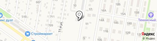 Дворик на карте Ягодного