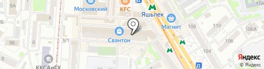 Марафон на карте Казани