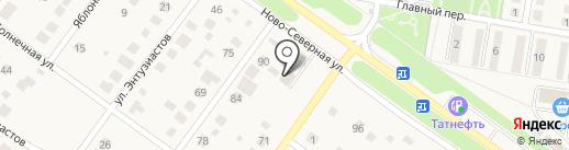 Автомойка на карте Ягодного
