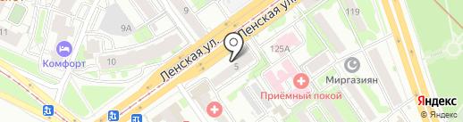 Кристалл на карте Казани