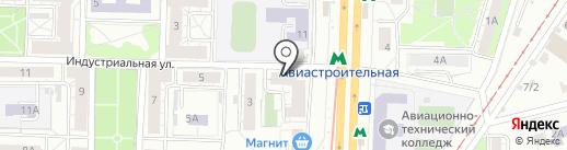 Хелен на карте Казани