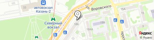 Веселые Пивовары на карте Казани