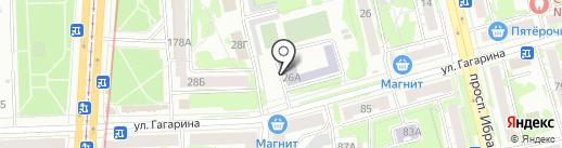 Детская музыкальная школа №13 на карте Казани