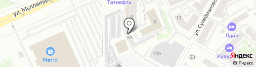 Garage116 на карте Казани
