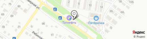 АЗС Татнефть на карте Ягодного