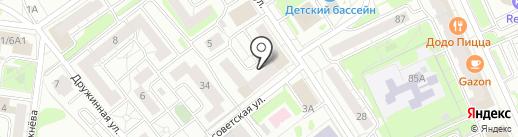 МУЛЬТИКids на карте Казани