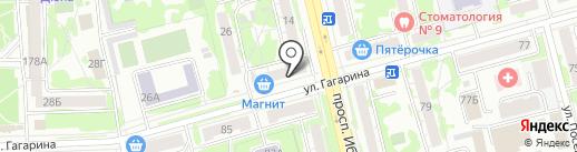 Русский ситец на карте Казани