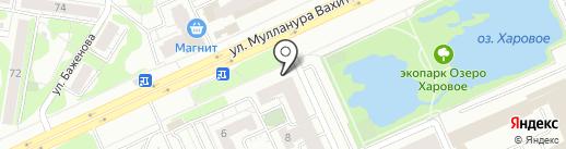 Бар Д Ак на карте Казани