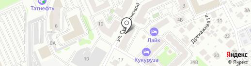Sweety nail studio на карте Казани