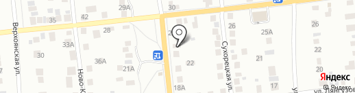 Сауна на Вересаева на карте Казани