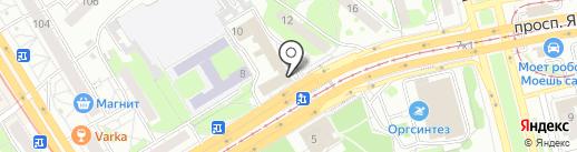 Папа может на карте Казани