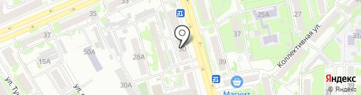 Авто Трэй на карте Казани