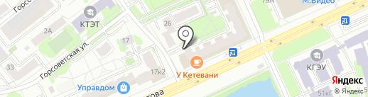 Столовая на карте Казани