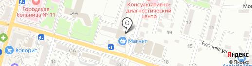 Магазин хлебобулочных изделий на карте Казани