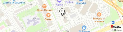 Гарант на карте Казани