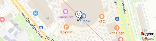 Orby на карте Казани