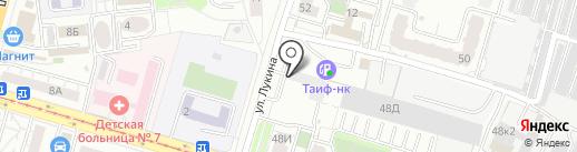 Авиатор на карте Казани