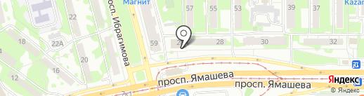 SmokeHouse на карте Казани