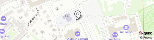 Пять звезд на карте Казани