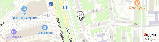 Stels на карте Казани