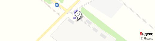 ДеЛМа на карте Ягодного