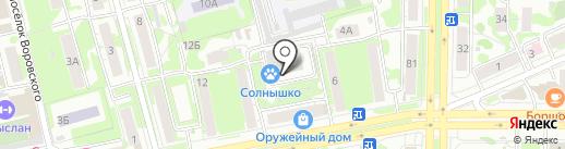 Ваш психолог на карте Казани