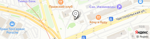 Unity Hall 2 на карте Казани