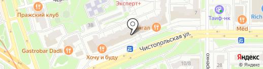 Фотостудия Алиева Ратмира на карте Казани
