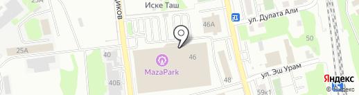 Тише-Тише на карте Казани