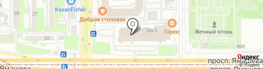 Служба аварийных комиссаров, ВОА на карте Казани