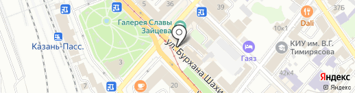 Бистро на карте Казани
