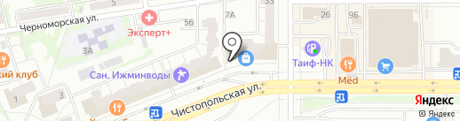 Точка страхования на карте Казани