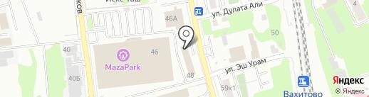 Атис на карте Казани