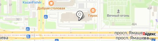 Агентство Юристов на карте Казани