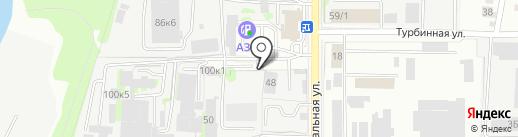 ТатШинСервис на карте Казани