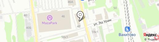 СК на карте Казани