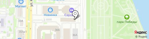 Абый-авто на карте Казани
