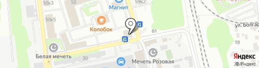 Дизайн Меха на карте Казани