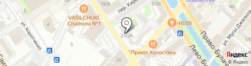 Сокол на карте Казани