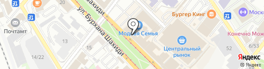 Натали на карте Казани